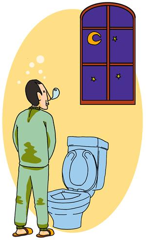 夜間、何度も排尿で起きる | 日...